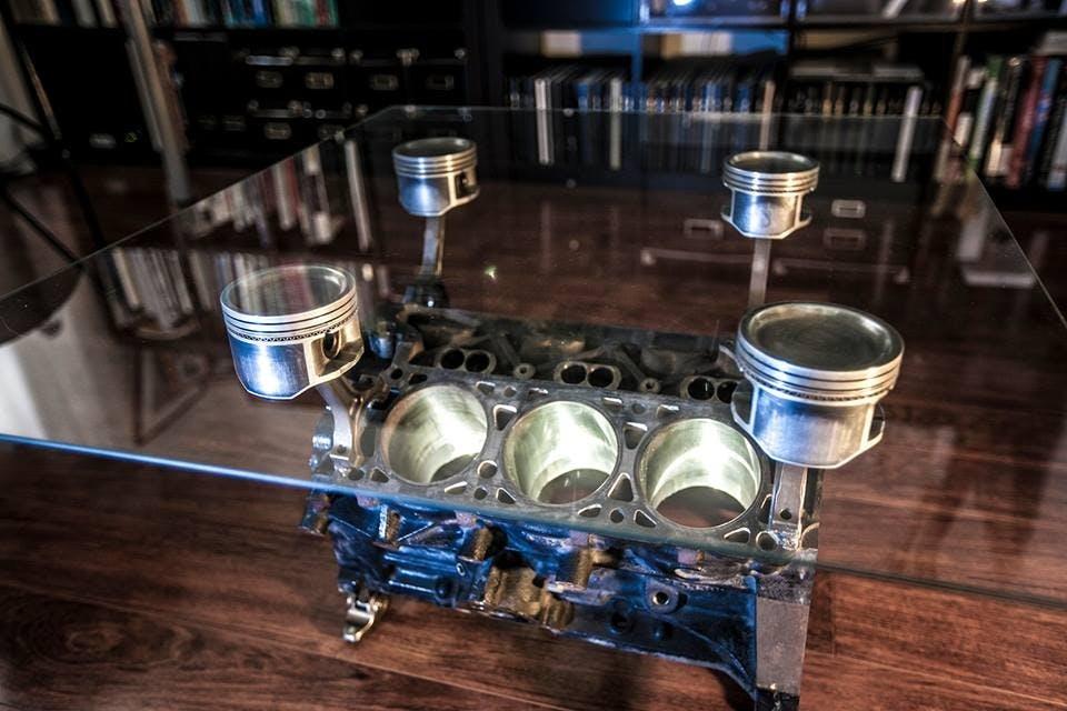 Engine Block Coffee Tables Martin Ronaszegi Archinect