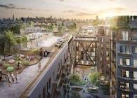 123 MELROSE, Green Roof Design