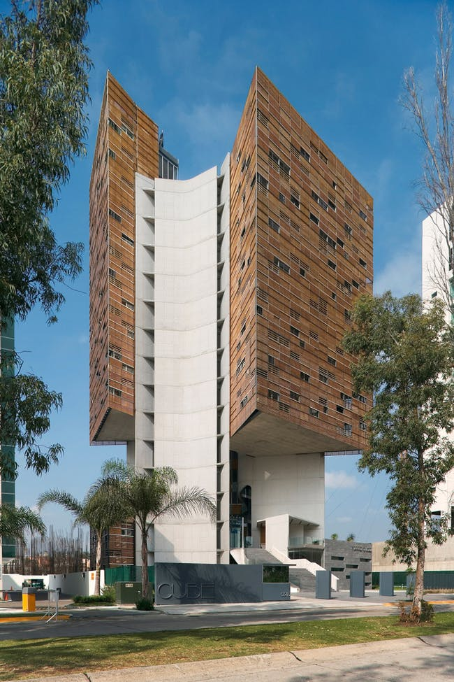 CUBE Tower in Guadalajara, Mexico, by Estudio Carme Pinos. Image courtesy of the MCHAP.