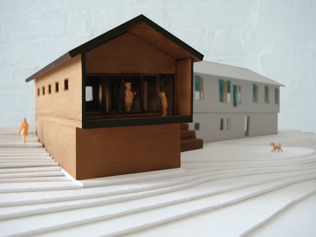 model - new master porch