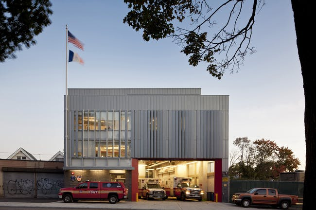 EMS 27 in Bronx, NY by WXY Architecture + Urban Design; Photo: Paul Warchol