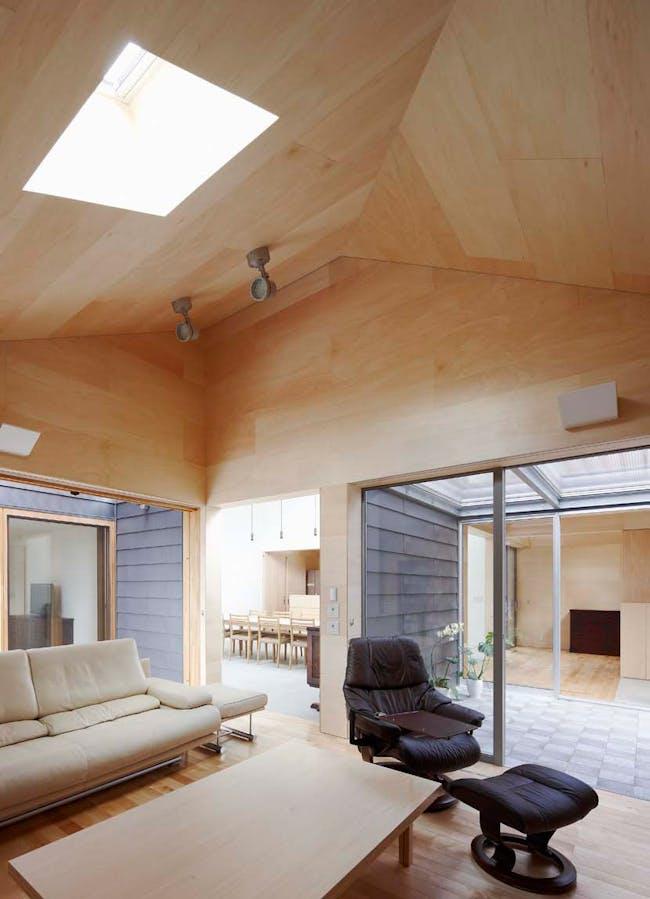 House Yagiyama in Sendai, Japan by Kazuya Saito Architects photographed by Yasuhiro Takagi