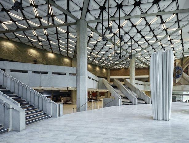 Palais de la Musique et des Congrès (PMC) Strasbourg – Marble foyer