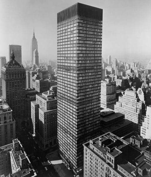 Union Carbide Building 1960
