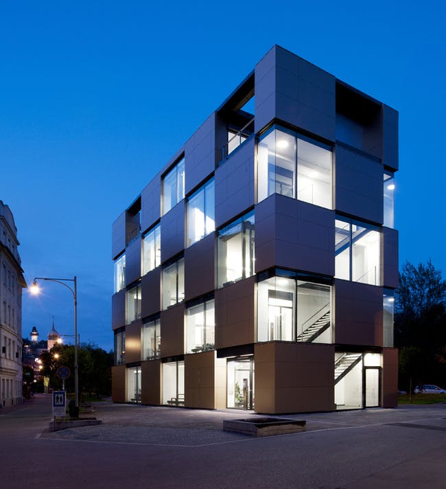NIK - Office Building in Graz, Austria by Atelier Thomas Pucher in collaboration with BRAMBERGER architects