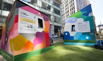 The Ice Box Challenge pits Passive House vs Regular House, on public display this summer in New York