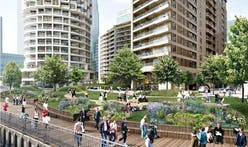 London's Canary Wharf spreads east with new towers and 3,000 homes planned