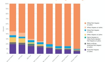 NCARB data reveals diversity is increasing amongst emerging professionals