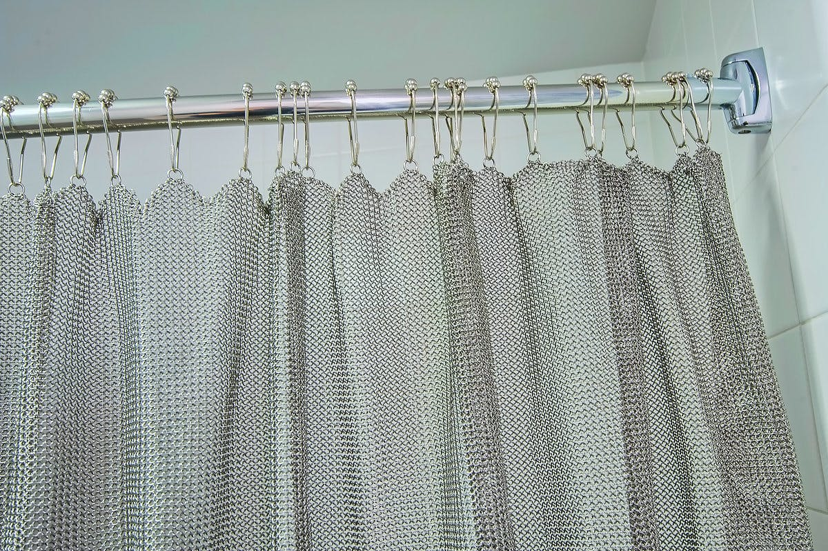 Chain Mail Shower Curtain
