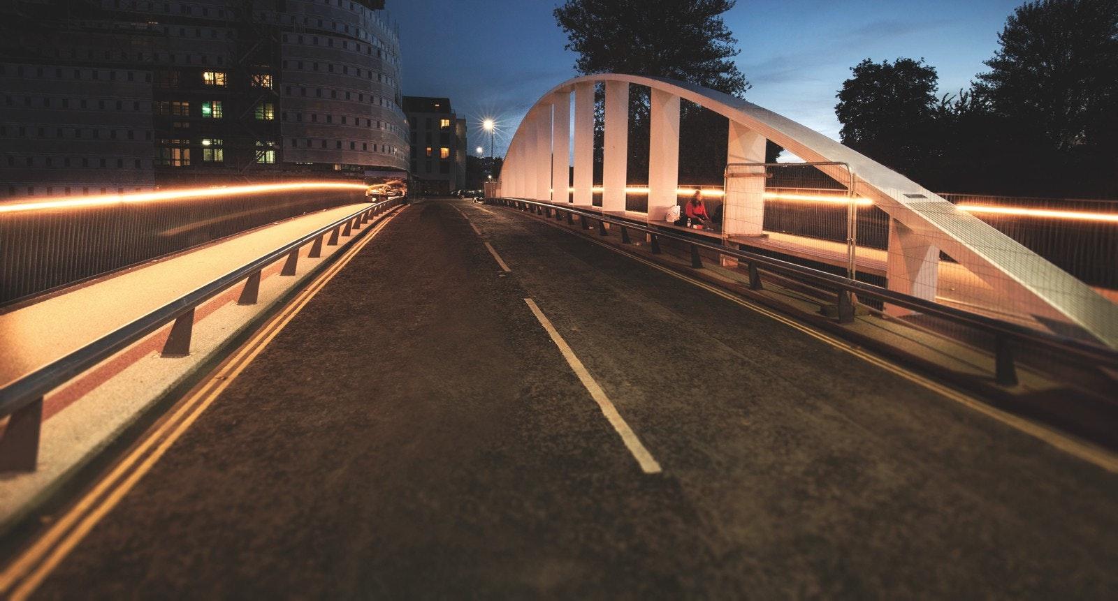 Destructor Bridge, Bath UK, by COWI. Photo: COWI.
