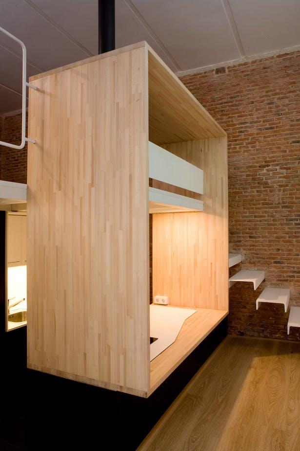 Loft Andrés Borrego. Madrid
