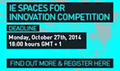IE SPACES FOR INNOVATION COMPETITION now open for applications