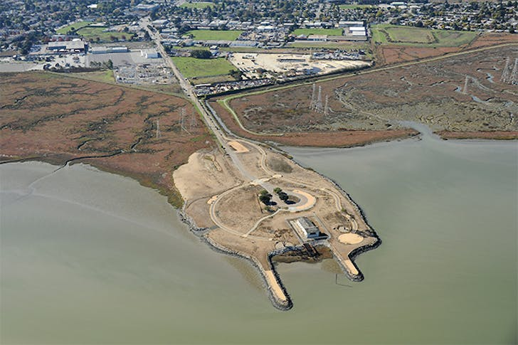 Cooley Landing, © Center for Land Use Interpretation from Around the Bay: Man-Made Sites of Interest in the San Francisco Bay Region (Blast Books).