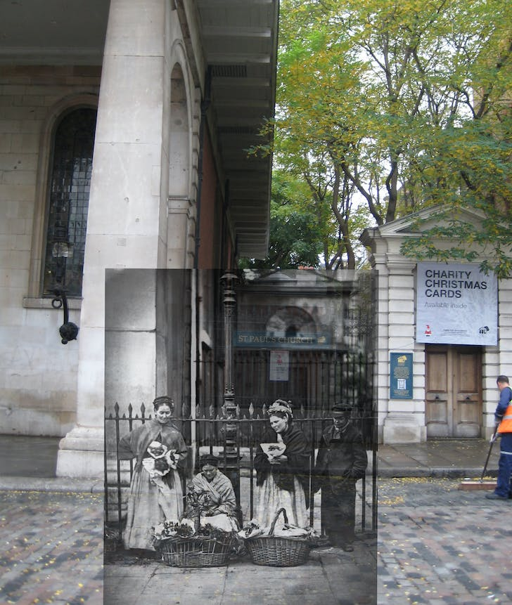 Covent Garden past and present © Museum of London