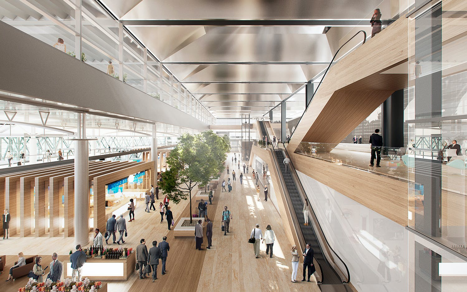 Foster Partners Win Marseille Airport Extension Design