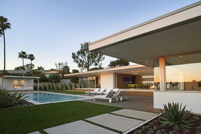McElroy Residence, photo by Miranda Brackett, courtesy of Ehrlich Architects.