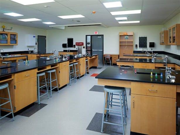 Science Classroom interior