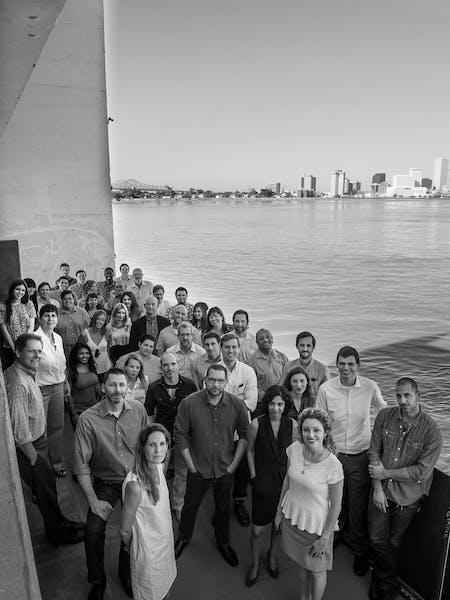 The Eskew+Dumez+Ripple team. Photo courtesy of the firm.