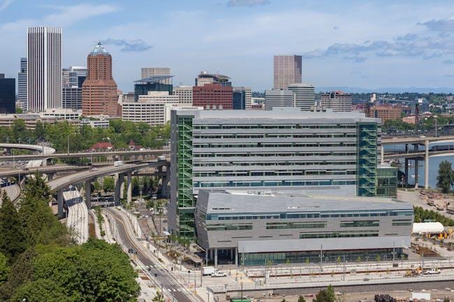 Collaborative Life Sciences Building for OHSU, PSU & OSU; Portland, OR by SERA Architects and CO Architects. Photo: Alene Davis.
