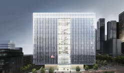 """Take a VR tour of the new L.A. Federal Courthouse, an """"unusually polished work of civic architecture"""""""