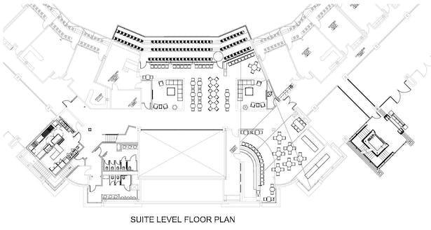 Suite Level Floor Plan