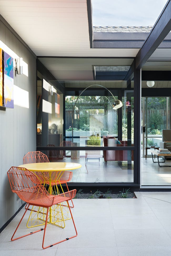 Renewed Classic Eichler in Sunnyvale, CA by Klopf Architecture; Photo: Mariko Reed