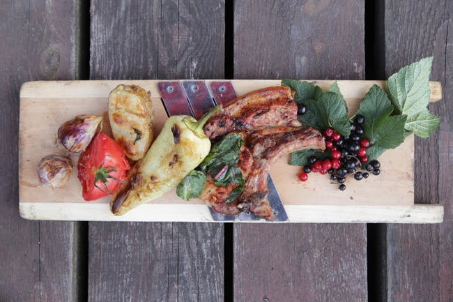 Fruit of the Polish Turkish culinary workshops. Photo credit: Seren Dal.