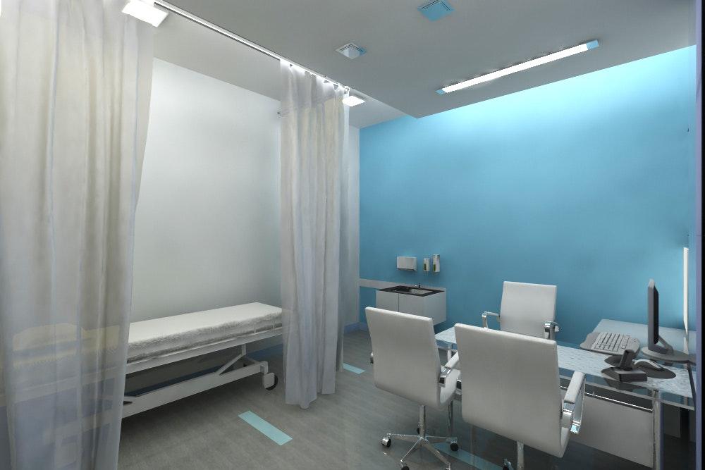 medicity hospital interiors  new delhi