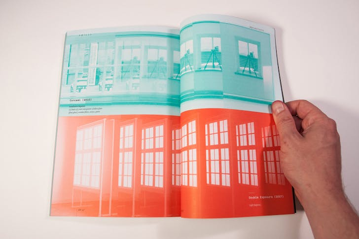 Spread from 'Windowscrapers'. Image courtesy of SOILED.