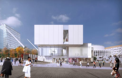 Finalist project by Provencher Roy + Associés Architectes. Image: Canadian Competition Catalogue.