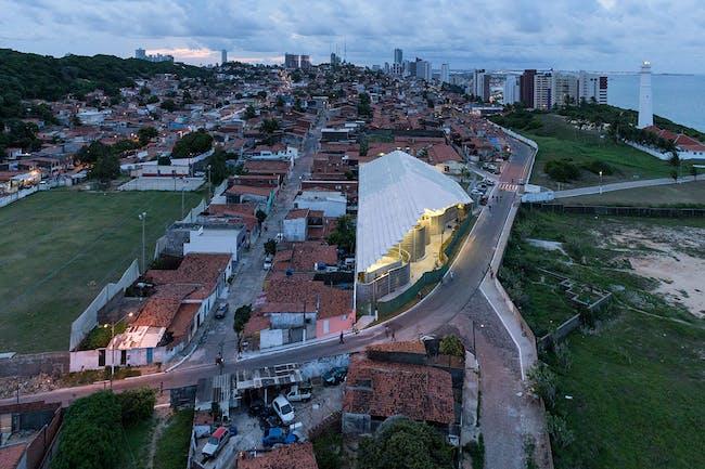 ARENA DO MORRO - Natal, Brazil. Designed by Herzog & de Meuron. Photo: Iwan Baan.