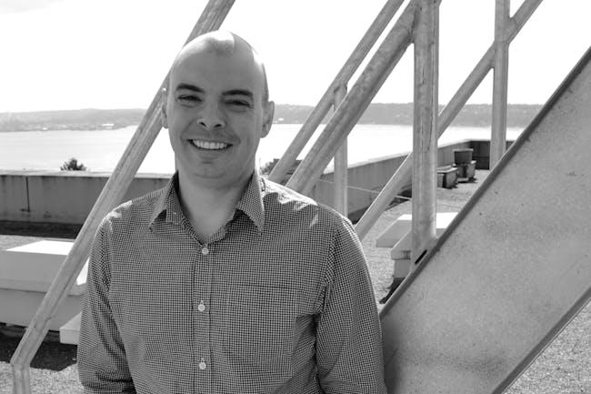 Paul Michael Davis, founder of Paul Michael Davis Design based in Seattle's vibrant Capitol Hill neighborhood.