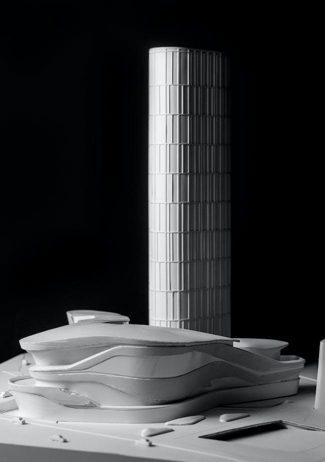Model - Zhongxun Times by 10 Design in Chongqing. Image courtesy of 10 Design