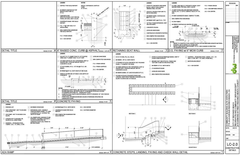 Sample construction documents donna wieczorkowski for Capstone exterior design firm