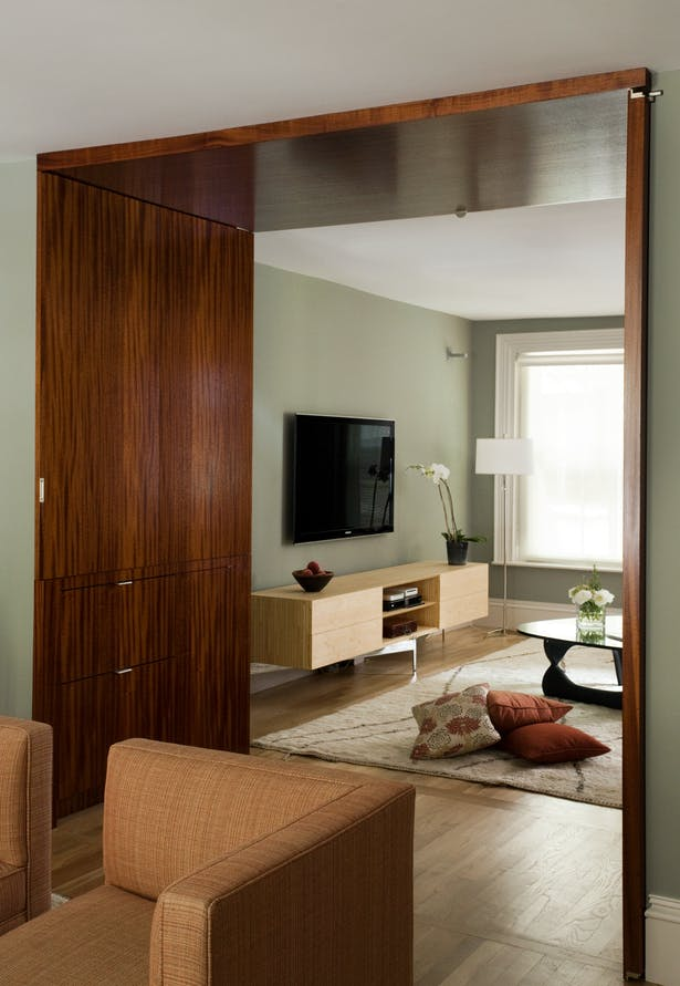 View into family room.