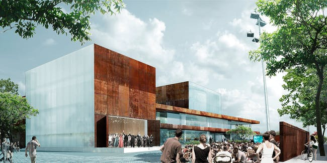 Vendsyssel Theater and Experience Center by schmidt hammer lassen architects