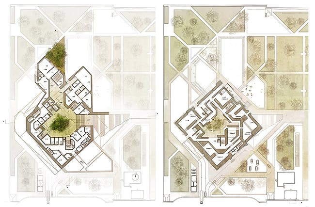 Plans (Image: Matteo Cainer Architects)