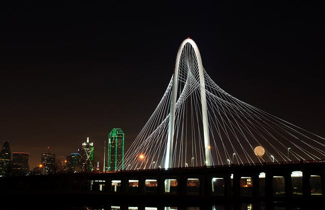 Margaret Hunt Hill Bridge in Dallas, TX (Photo: Marco Becerra)