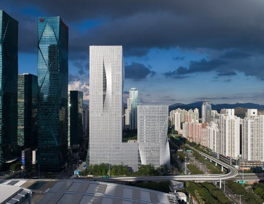 Best Tall Building, 200-299 meters: Shenzhen Energy Headquarters, Shenzhen, China. Photo © Chao Zhang.
