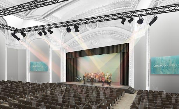 Chicago Tabernacle - Auditorium