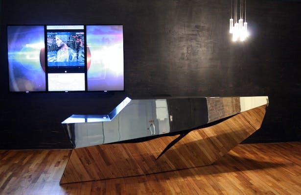 SONY MUSIC Reception Desk