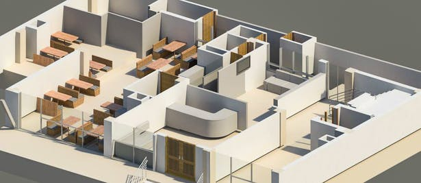 sectional 3D of ground floor