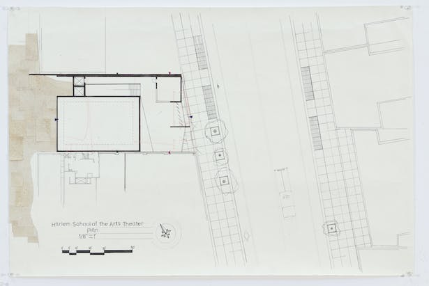 Ghosted Site Plan