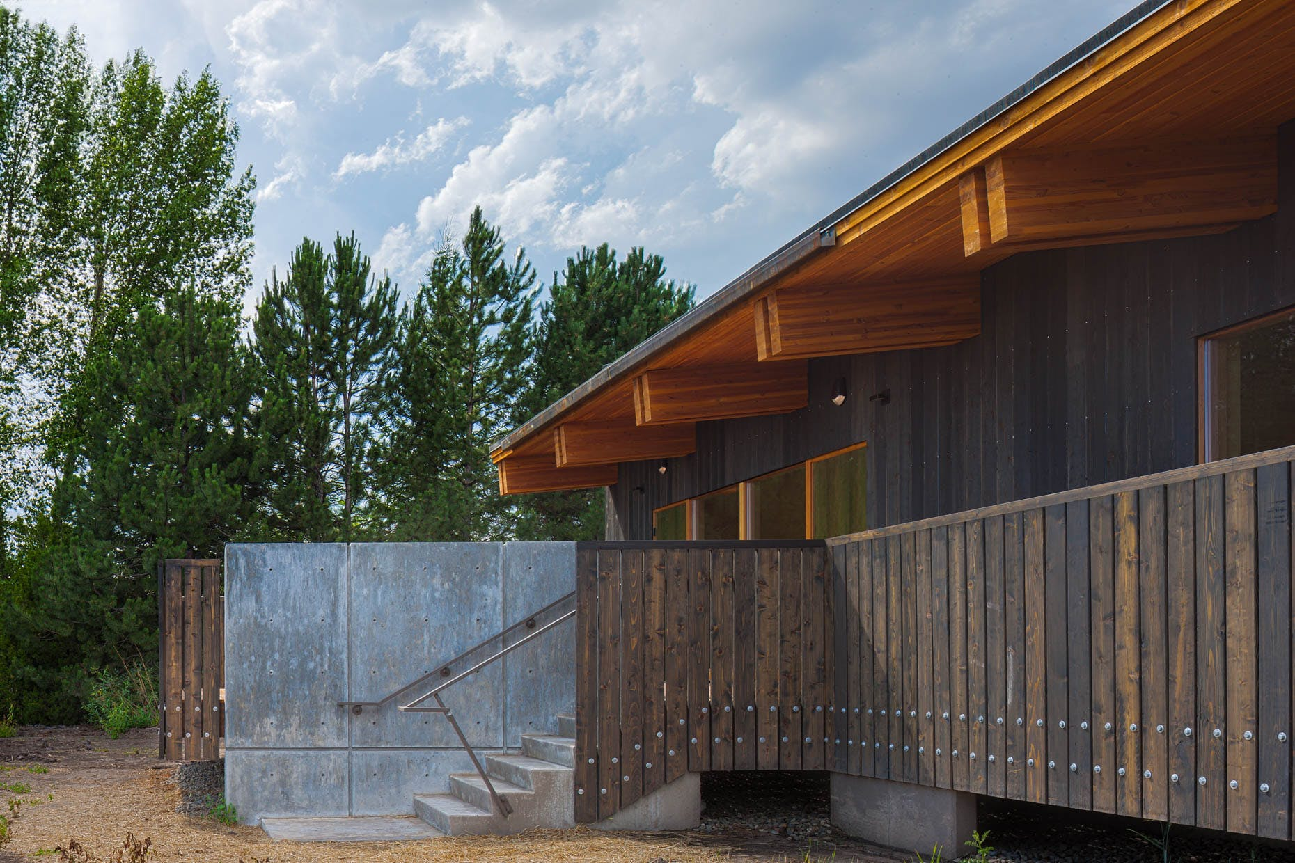 University Of Idaho College Of Natural Resources Patano Studio - University of idaho architecture