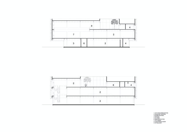 Sections (Image: HENN)