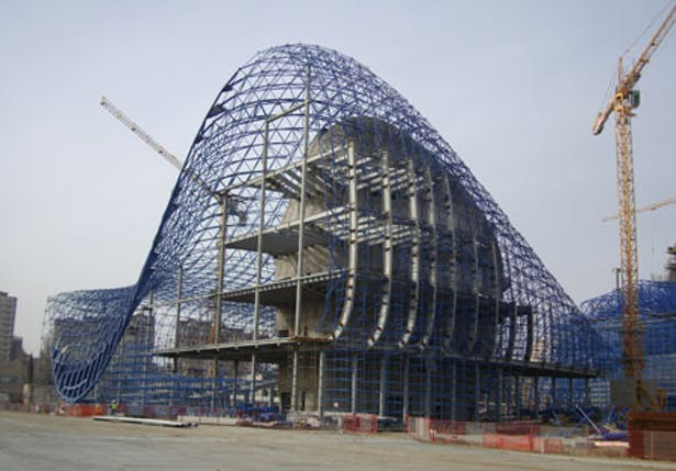 Heydar Aliyev Centre Bimtrainer Archinect