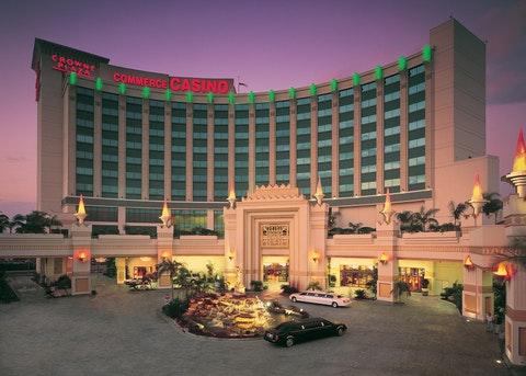 Commerce casino location casino queen reservations