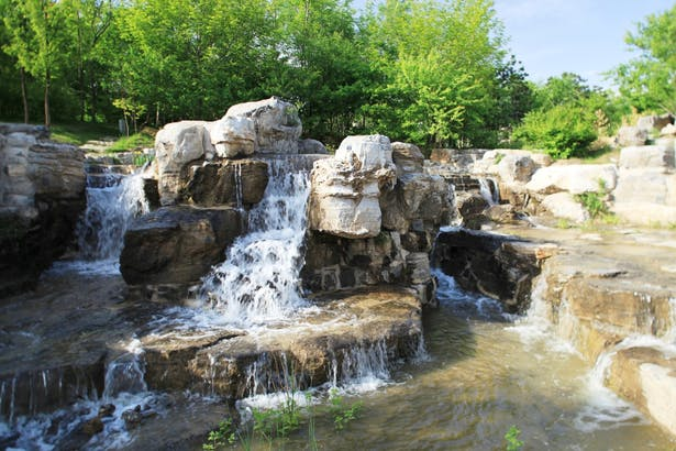 Water Feature in Beijing Olympic Forestry Park