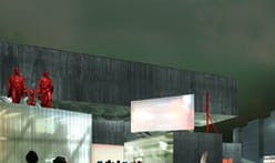 WAI Architecture Think Tank's shortlisted proposal for Moscow's NCCA competition