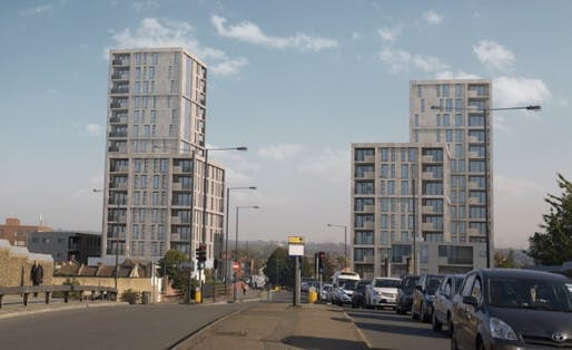 Image: Moss Architecture's Palmerston Road proposals for Origin Housing